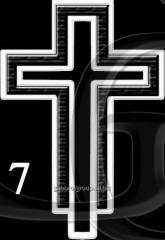 Гравировка Крест-07