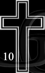 Гравировка Крест-10