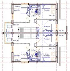 Designing of residential buildings