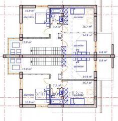Услуги по проектированию жилых помещений