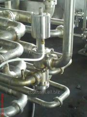 Production of turnkey plants
