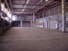 Lease of industrial premises