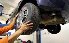 Ремонт ходовой системы автомобилей