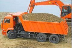 Перевозка строительных грузов до 30 тон (Transportarea materialelor de contructii cu auobasculante pina la 30 tone)