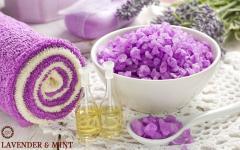 Спа-ритуал Мята & Лаванда - Velvet & soft