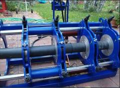 Polyethylene pipes welding services