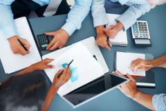 Составление и дальнейшее представление всех финансовых и налоговых отчетов