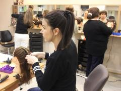 Education of hairdressers