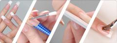 Artificial nails forming: acrylic, gel