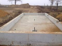 Swimming pool and sauna construction