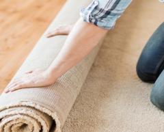 Laying of carpet