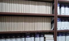 Переплет(подшивка) бухгалтерских,финансовых,юридических документов