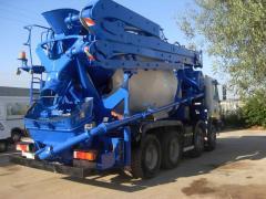 Servicii de pomparea betonului