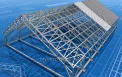 Строительство металоконструкции