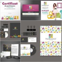 Разработка, дизайн, изготовление рекламной продукции.