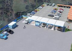 Constructie spalatorie auto Self Service