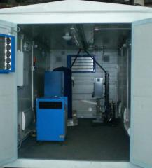 Монтаж модульных газовых станций