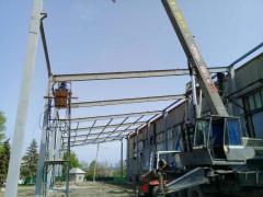 Строительство ангаров в Молдове