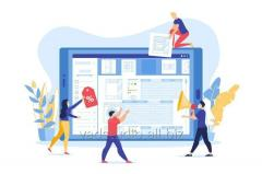 Создать сайт визитку с административной панелью в