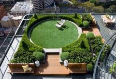 Озеленение крыш домов и террас