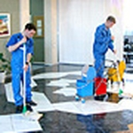 Cleaning of offices, shopping and business centers