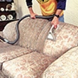 Dry-cleaner of upholstered furniture, carpets,