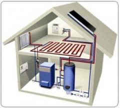 Обслуживание систем центрального отопления