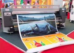Широкоформатная печать! наружная и интерьерная