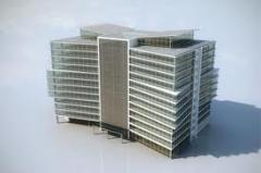 Auxiliary works in construction of buildings and