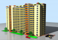 Sale of apartments in a new building on Gredin Botanike St.