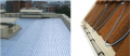 Heating of a roof
