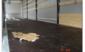 Maintenance of a floor of trailers and semi-trailers