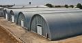 Constructie de depozite pentru pastrarea culturilor agricole